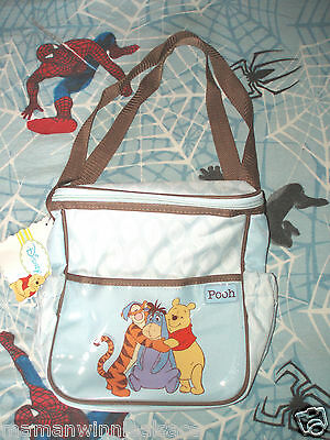 petit sac à langer neuf  winnie tigrou bourriquet  disney (transport biberon)