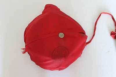 Vintage Boy Scouts of America Be Prepared Mess Kit with Red Nylon Carrying Bag