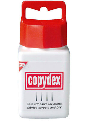 Copydex Glue 125ml Pot With Brush in Lid For Fabrics and Crafts