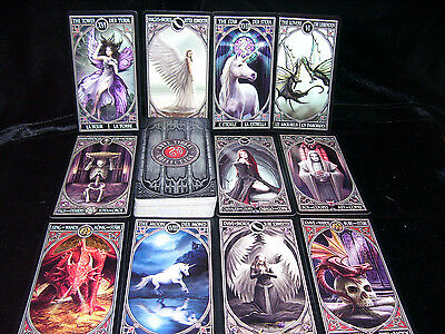 Brand New & Sealed! Gothic Tarot Card Oracle Angels Vampires  Anne Stokes