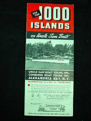 Original Uncle Sam Boats 1000 Island Tours Alexandria Bay NY Schedule W Prices