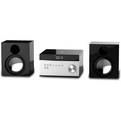 GPX CD Player Stereo Home Music System with AM/FM Radio, Remote (HC225B)