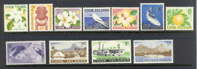 Cook Islands 148 to 158 mlh complete set