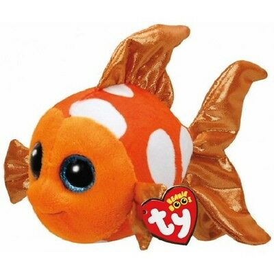 Sami The Orange Fish  Ty Beanie Boos  Brand New
