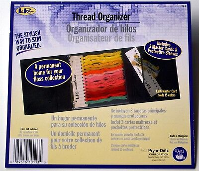 EMBROIDERY THREAD/FLOSS ORGANIZER - Thread & Accessory Storage Folder