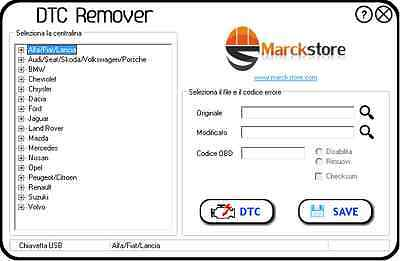 Dtc Remover 1.8.8 Original 2017 Elimination Errors Ecu Egr Dpf