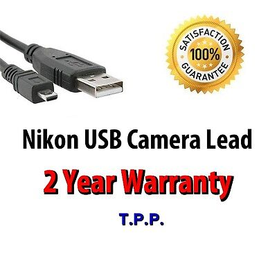Nikon Coolpix USB Camera Lead Cable Select Your Exact Model In Advert