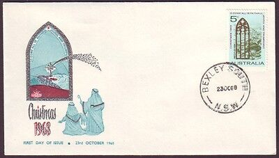 1968 Christmas On Royal  First Day Cover Unaddressed (Ru1495)