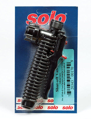 Solo 4800170 Backpack Sprayer Shut Off Valve Kit New In Package Sale 6340020