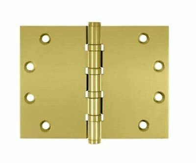 """Door Wide Throw Hinges 4-1/2""""x 6"""" 4BB Square Corners in 2 Finishes By FPL Door"""