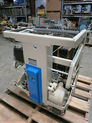 New General Electric AK-3A-50S 1600A Motor Operated Draw Out Air Breaker GE 3 50