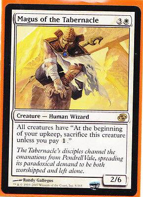 MTG Magic 1 x Planar Chaos Rare Magus of the Tabernacle  Creature Human Wizard