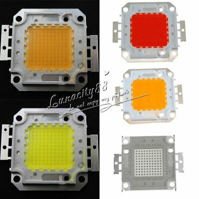 100W Cool / Warm White High Power LED Panel Chip Lamp 9000LM 100 Watt Lamp Light