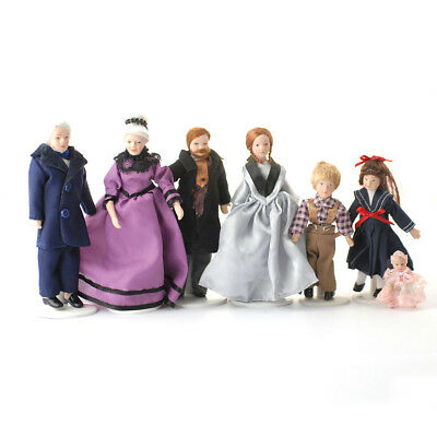 Dollshouse 1:12 Scale 12th Scale Family Of Seven DP090 Dolls House Accesories