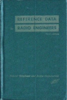 Federal Telephone & Radio Corp / It&t, 1950 Book (Radio Engineers Reference Data