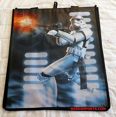 Star Wars Shopping Tote Bag - Stormtrooper Shooting First - New Limited Edition