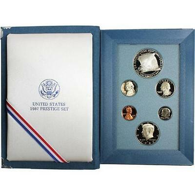 1987 US Mint Constitution Prestige Proof Coin Set United States Mint