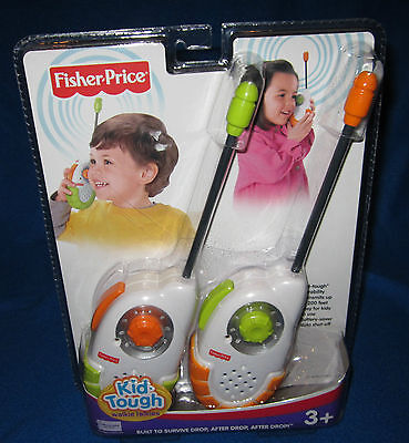 Fisher Price Kid Tough Walkie Talkies New N5962