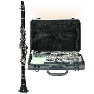 New Broadway Ct2900 Clarinet Package With Deluxe Hardshell Case