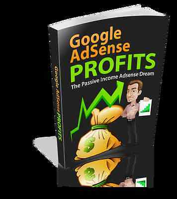 GOOGLE ADSENSE Profits Gives You Passive Income- Just Add To Your Website (CD)