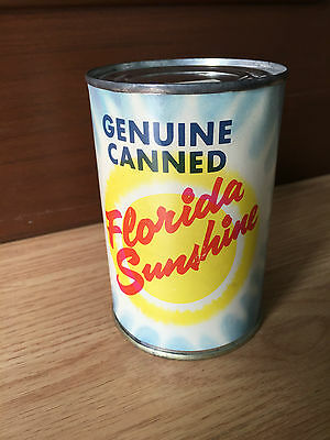 VINTAGE 1960's UNOPENED COLLECTIBLE CAN -  GENUINE FLORIDA SUNSHINE