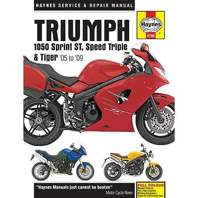 Manual Haynes for 2006 Triumph Speed Triple 1050
