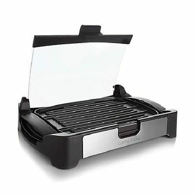 New Curtis Stone 1700W Reversible Grill/griddle, Gray -$129