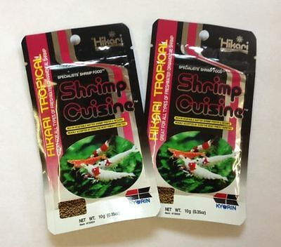 Shrimp Cuisine Specialists Shrimp Food By Hikari 10G Pack Of Two