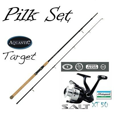 Target EXTREME Pilk 2,70 m bis 180 g + Shakespeare Salt XT 50 Set-No 9951