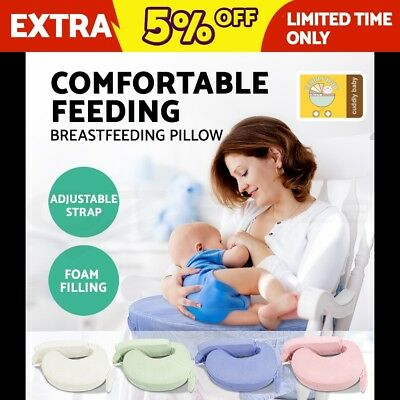Nursing Breastfeeding Baby Support Foam Breast Feeding Pillow Adjustable