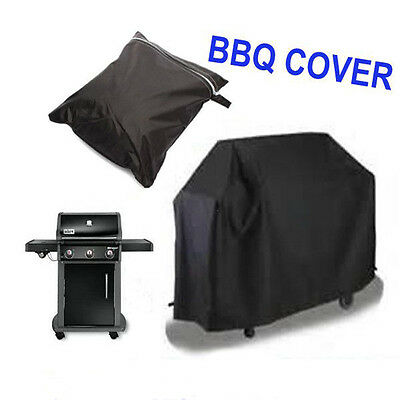 Waterproof BBQ Cover #E Outdoor Rain Barbecue Grill Protector For Gas Charcoal
