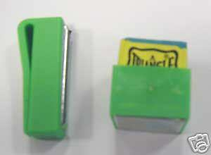 Green Magnetic Chalk Holder For Snooker / Pool Players