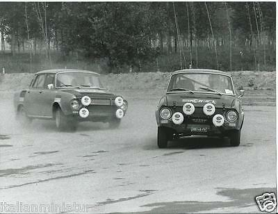Skoda 106 Deluxe 1980's Race Photograph Excellent Condition