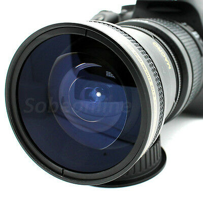 Ultra Wide Angle Macro Fisheye Lens for Nikon D7200 D7100 D7000 D5200 DSLR Cam