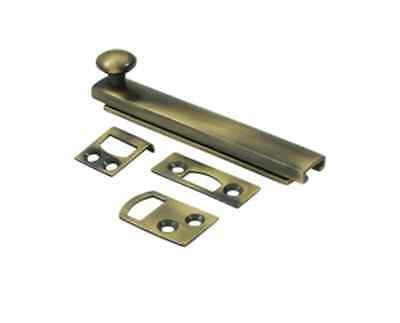 Concealed 4 Inch Screw Surface Bolts, HD-9 Finishes by FPL Door Locks & Hardware