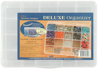 """""""Deluxe Organizer 10.75""""""""X7.7""""""""X1.75""""""""-20 Compartments, Set Of 3"""""""