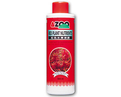 AZOO RED PLANT NUTRIENTS*For aquatic , reef aquariums and ponds*120,250,500ml
