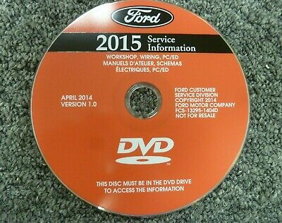 2015 Ford C-Max Truck Shop Service Repair Manual DVD Hybrid Energi SE SEL 2.0L
