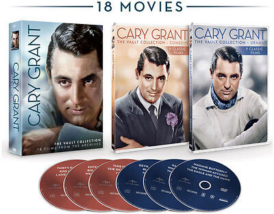 Cary Grant: The Vault Collection - 6 DISC SET (2016, REGION 1 DVD New)