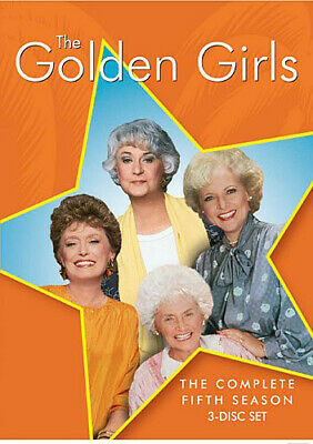 Golden Girls: Complete Fifth Season - 3 DISC SET (2016, REGION 1 DVD New)