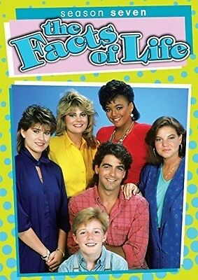 Facts Of Life: Season 7 - 3 DISC SET (2015, REGION 1 DVD New)