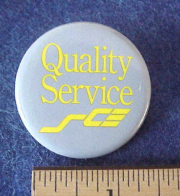 SOUTHERN CALIFORNIA EDISON SCE QUALITY SERVICE EMPLOYEE Clip On PIN