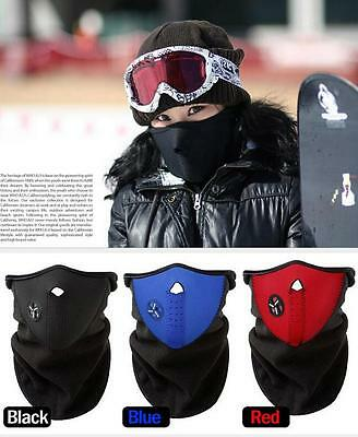 Dustproof & Windproof Half Face Mask Hat for Ski Cycling Motorcycle 3 Colors Q