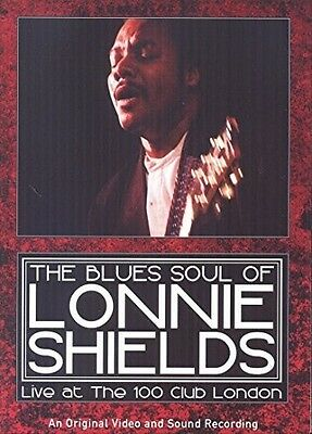 Blues Soul Of Lonnie Shields - Live At The 100 (2015, REGION 1 DVD New)