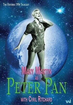 Peter Pan: Starring Mary Martin (1956) (2015, REGION 1 DVD New)
