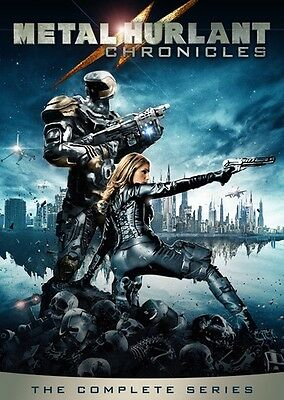 Metal Hurlant Chronicles: The Complete Series - 3 DISC  (2015, REGION 1 DVD New)
