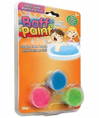Gelli Baff Paint Pack of 3 - Stain Free Body and Face Paint