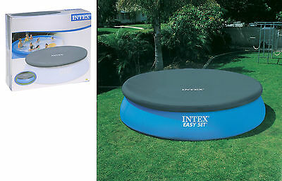 Intex Round Easy Set Swimming Pool Cover Paddling Pool Cover-Pools up to 3.6M
