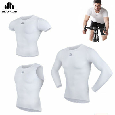 SOBIKE SOOMOM  Men Mesh Perspiration Quick dry Underwear Cycling Jersey 3 Style