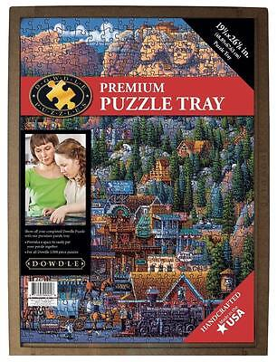 "Dowdle Folk Art Premium Puzzle Tray 19.25"" × 26.625"" Fits Up To 1000 Pcs #61997"